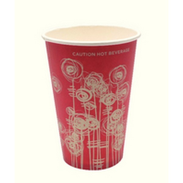 25cl Swirl Paper Vending Cup Pk1000 AS30037 - AS30037