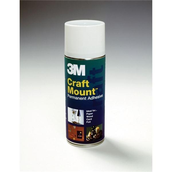 3m Craft Mount Adhesive Aerosol 400ml 144 3267