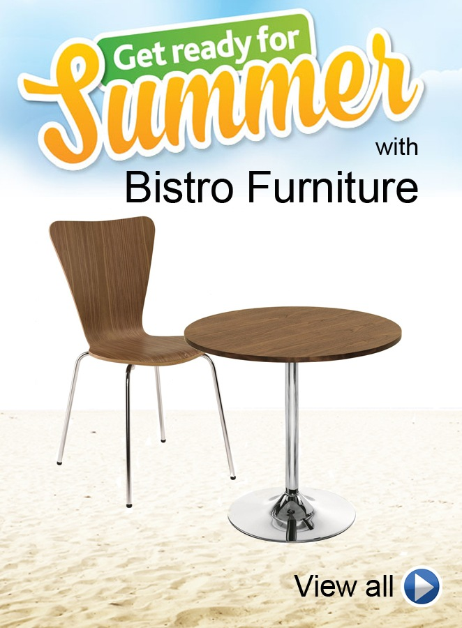 Get Ready for Summer with Bistro Furniture