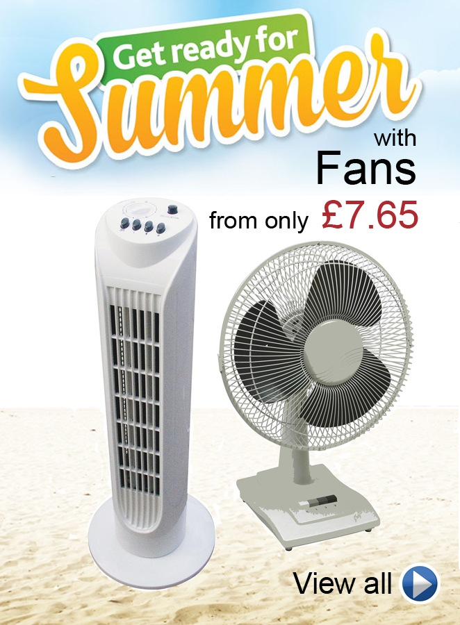 Get Ready for Summer with Fans