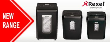 New Rexel Promax shredders