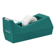 Scotch Tape Dispenser Turquoise with One Roll of Scotch Magic Tape 19mm x 8.89m C38-B - 3M39842