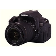 Canon Black EOS 700D Digital SLR Camera with 18-55mm Lens 8596B027AA - CO60251