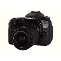 Canon Black EOS 70D Digital SLR Camera with 18-55mm Lens 8469B031AA - CO61066