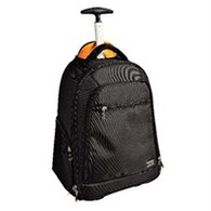 Exabusiness Black Wheeled Backpack (Pack of 1) GH18634 - GH18634