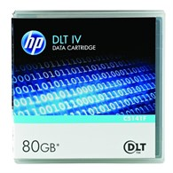 HP DLT4 40GB/80GB Data Tape Cartridge C5141F - C5141F