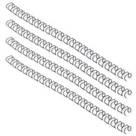Fellowes Wire Binding Element 12.7mm Black [Pack 100] BB53273 - 622-5523
