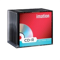 Imation 18645 CD-R 80Min/700MB 50x Slim [10 Pack] 18645 - 41187