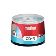 Imation CD-R 700Mb/80minutes 52X Spindle Pack of 50 i18647 - 05189