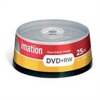 Imation 16867 DVD+RW 4.7GB Spindle of 25 16867 - 16867