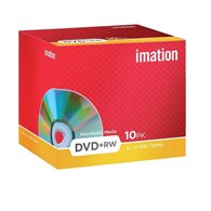 Imation DVD+RW 4.7Gb 4X Pack of 10 i19008 - 19008