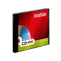 Imation CD-RW 80Min/700GB 1-4X [10 Pack] 19001 - 19001