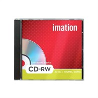 Imation Show box 700MB CDRW Pack10 19002 - 2394800