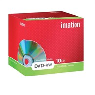 Imation 21061 DVD-RW 4.7GB 4x [10 Pack] 21061 - 19007