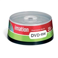 Imation DVD-RW 4.7Gb 4X Spindle Pack of 25 i21063 - 16613