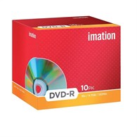 Imation 21976 DVD-R 4.7GB Jewel Case [10 Pack] 21976 - 19005