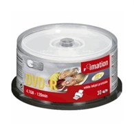 Imation DVD-R 4.7GB Spindle Inkjet Printable [30 Discs] 22373 - 7417732