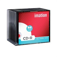 Imation CD-R 80 Min 700MB Printable [10 Pack] 23262 - 7138551