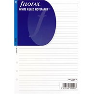 Filofax Inserts White Ruled A5 Notepaper 343008 - 343008
