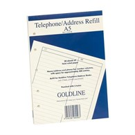 Guildhall Address Book Refill Faint A5 GA5/R - 121-7884