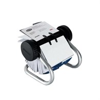 Rolodex Classic 200 Rotary Business Card File Chrome S0793790 EL67237 - 265-3847