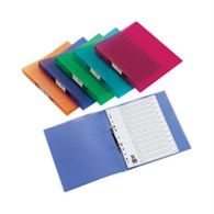 Q-Connect 2-Ring Binder A4 Frosted Assorted Pack of 12 KF02488 - 646-9373