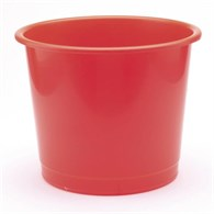 Q-Connect Waste Bin 15 Litre Red - 9782399