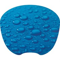 Q-Connect Thin Mouse Pad Raindrops KF04559 - 648-1632