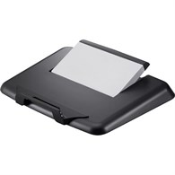 Q-Connect Plastic Laptop Stand Black KF20078 - 648-7758