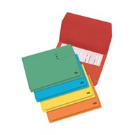 Avery Bright Document Wallets Assorted [10 Pack] - 76610 - 64314X