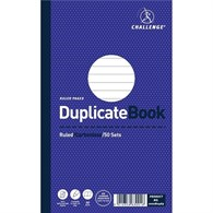 Challenge Carbonless Duplicate Book 210x130mm Ruled Feint 100080469 - 0880958