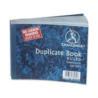 Challenge Duplicate Book Blue Ruled [Pack of 5] H63030 - 6738658
