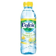 Danone Volvic Touch of Fruit Lemon and Lime Fruit Water 500ml (Pk 24) 20299 - 101-4385