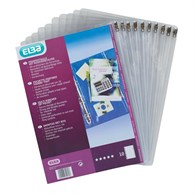 Elba Ring Binder Plastic Pocket Inserts BX70171 - 237-6871