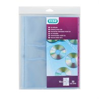 Elba Cd/Dvd Clear Pockets BX27530 - 643-4758