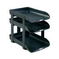 Rexel Agenda 2 In - Out Letter Tray Risers  - 1036312