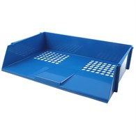 Q-Connect Wide Entry Letter Tray Blue - 279-1891