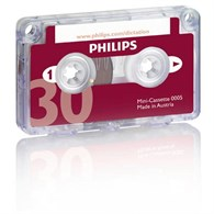 Philips Cassette 30Min [x10 Pack] PH005 - 643-6358