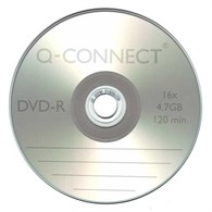 Q-Connect DVD-R Cakebox Pack of 25 KF00255 - 891-9953