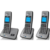 BT 2000 Trio Dect Telephone in Silver 066257  - 965-2221