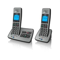 BT 2500 Twin Dect/Answer Machine Telephone in Silver 066259  - 965-2537
