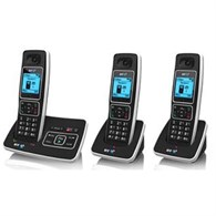 BT 6500 Trio Dect With Tam Telephone in Black 066268  - 965-2973