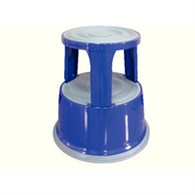 Q-Connect Metal Step Stool Blue KF04847 - KF04847