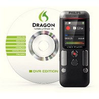 Philips Voice Tracer Stereo Digital Recorder with Speech Recognition Software 4GB DVT2700 - PH50046