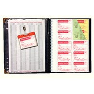 Identibadge School Visitor Book and 10 Free Badges IBVBSCH300 - SP03085