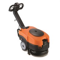 Vax Commercial Black and Orange Battery Powered Scrubber Dryer VCSD-02 - VX14356